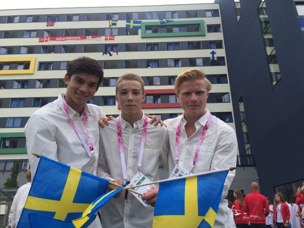 Svensk judoutövare fanbärare på ungdoms-OS