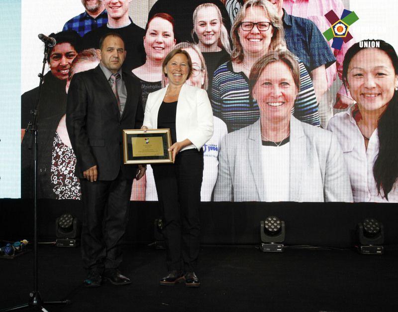 Svensk Judo får Europeiskt jämställdhetspris