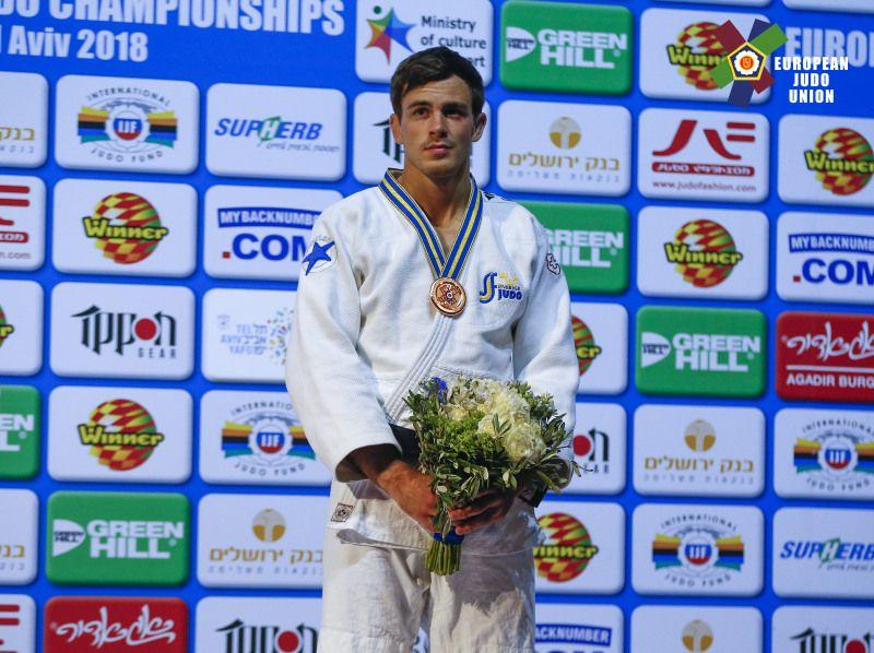 EM-brons och start på OS-kvalet med pappaledig medaljör