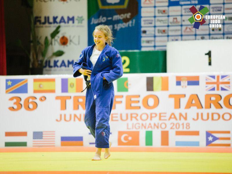 Bronsmedalj till Ida på Europacupen i Italien