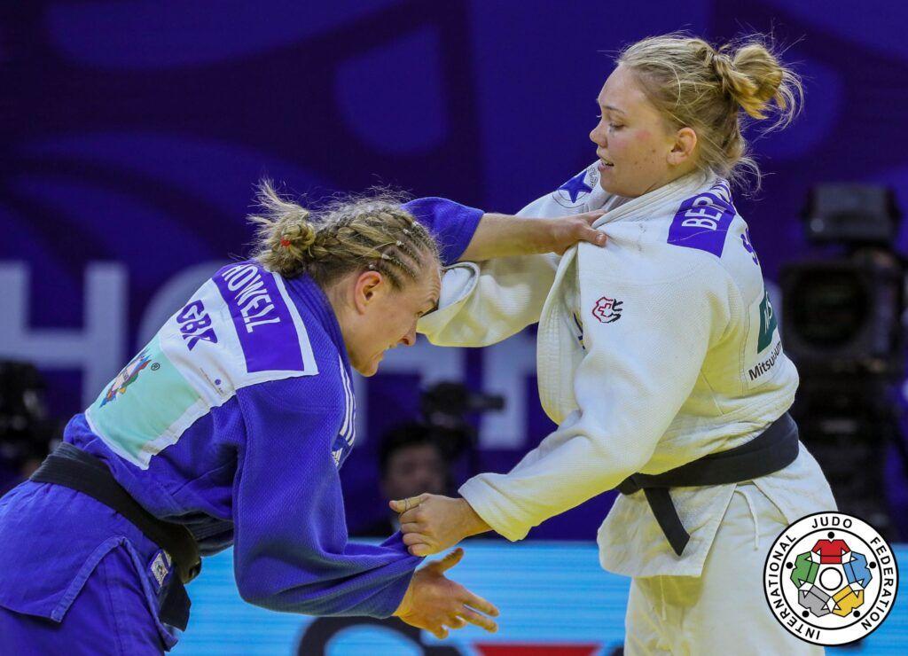 Pressmeddelande: Bronsmatch för Anna Bernholm i OS-kvalpremiären