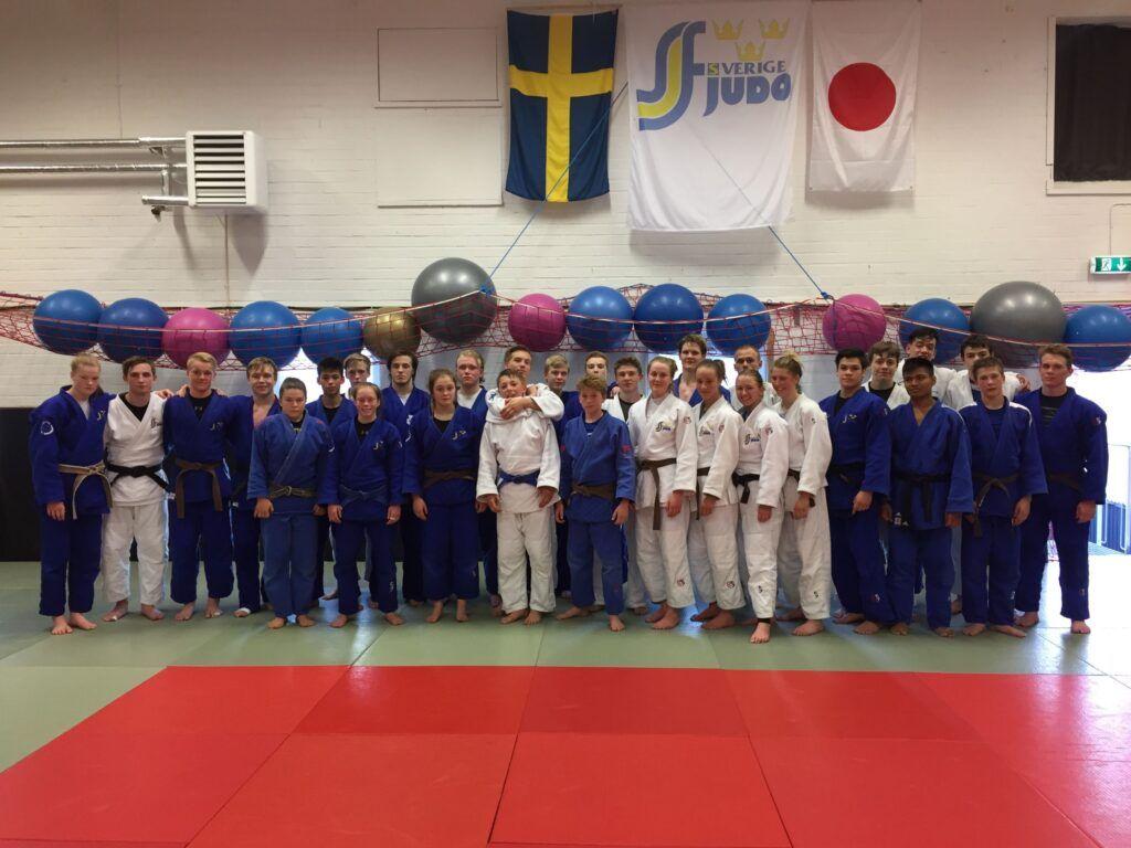 Sundsvall Judo Club stod som värd för årets andra Judo Skapar Vinnare-läger