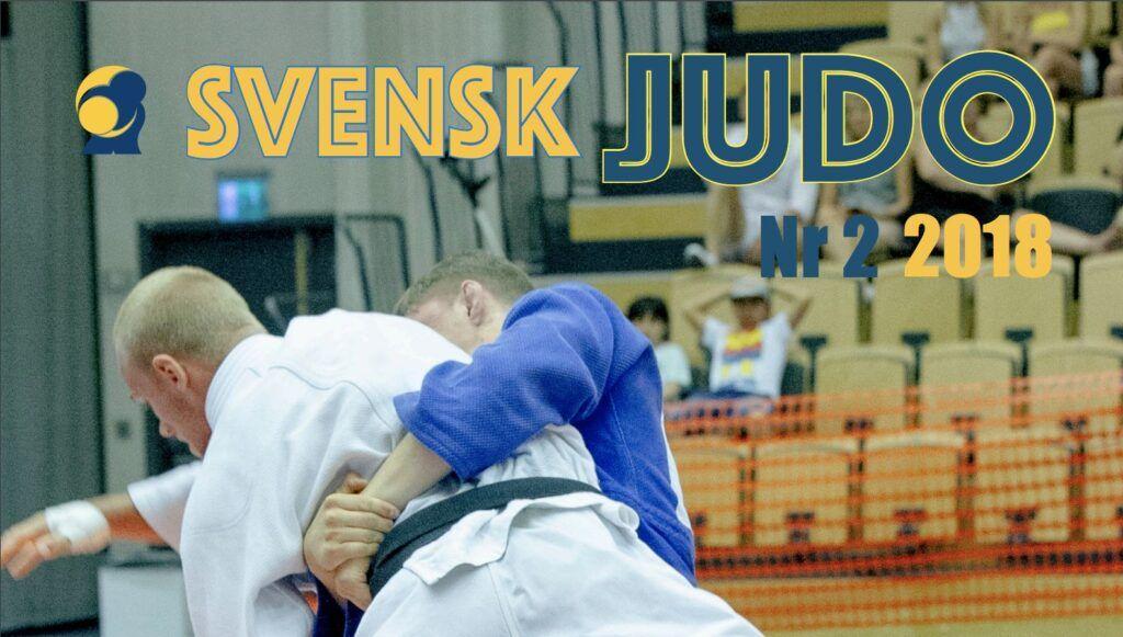 Tidningen Svensk Judo 2/18