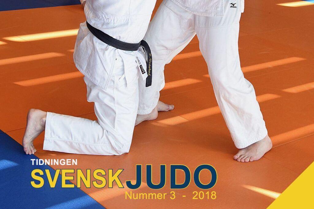Tidningen Svensk Judo 3/18
