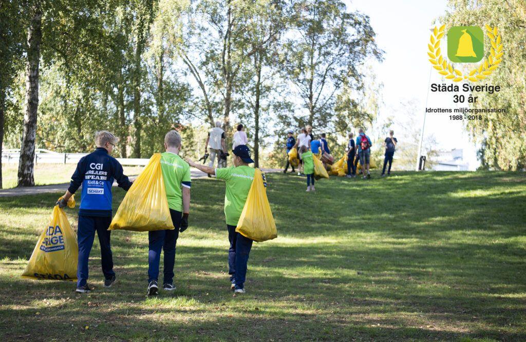 Idrottens miljöorganisation Städa Sverige fyller 30 år