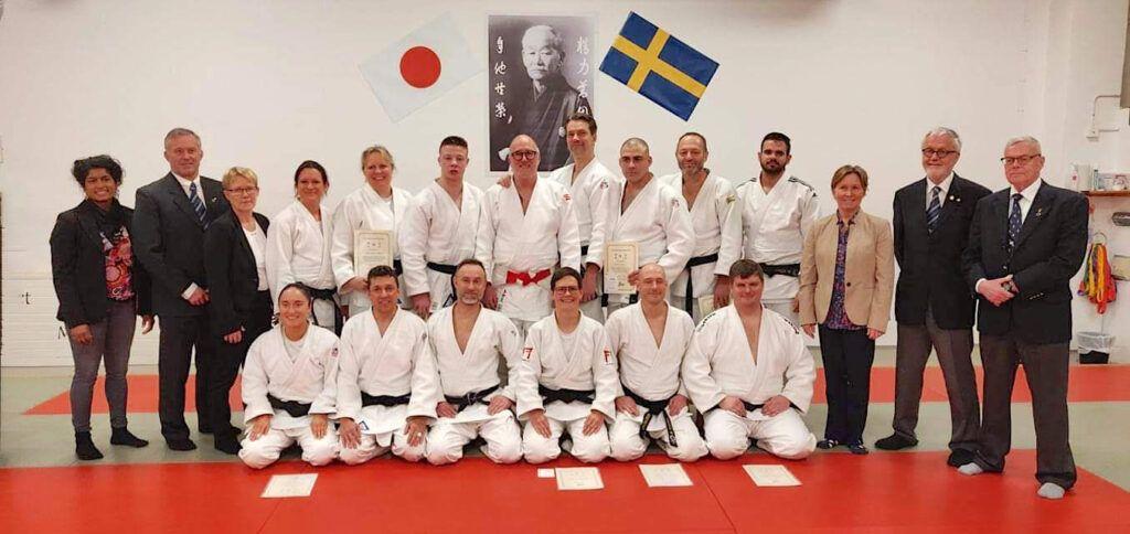 Allt fler och högre dan-grader inom svensk judo!
