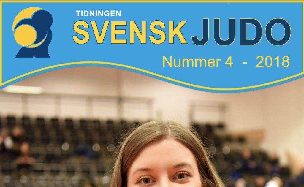 Tidningen Svensk Judo 4/18