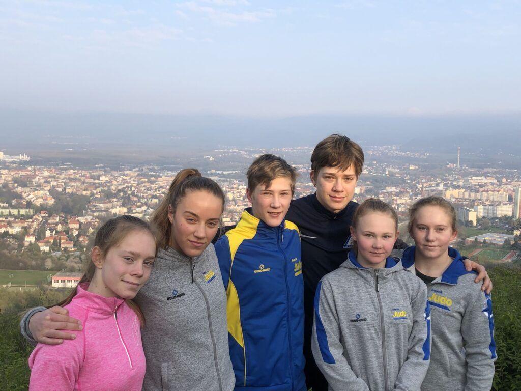 Rapport från europacupen för kadetter i Teplice