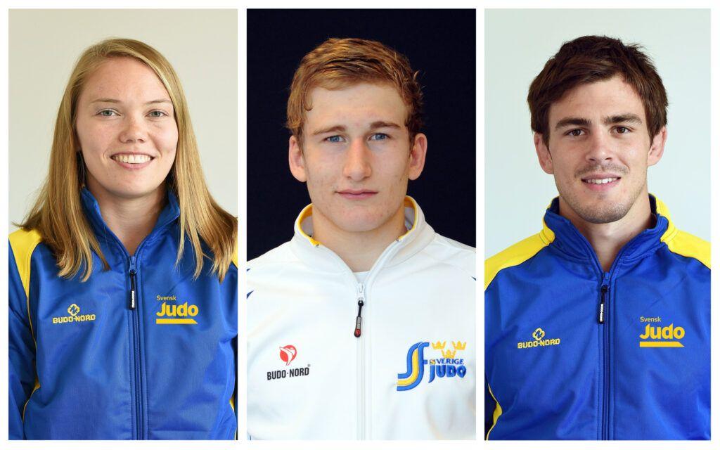 Anna, Victor och Tommy uttagna till European Games