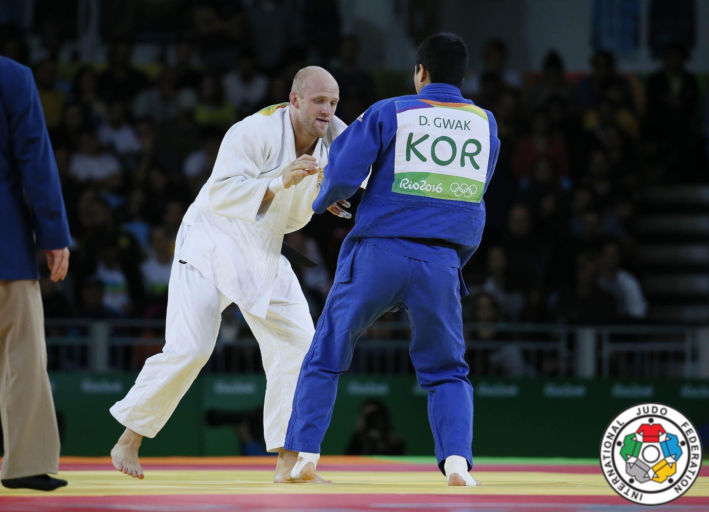 Marcus Nyman tävlar i judo på OS 2016.